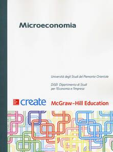 Microeconomia. Con connect - copertina