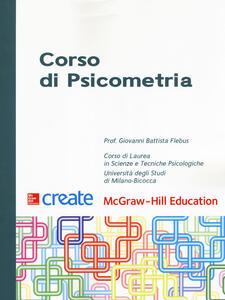 Corso di psicometria. Con Contenuto digitale per download e accesso on line - Giovanni Battista Flebus - copertina
