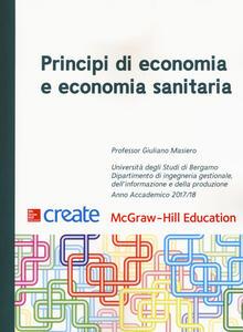 Principi di economia e economia sanitaria