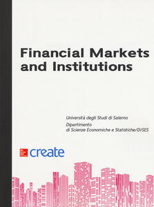 Financial markets and institutions - copertina