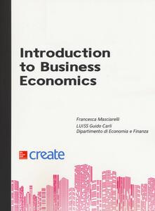Introduction to business economics - copertina