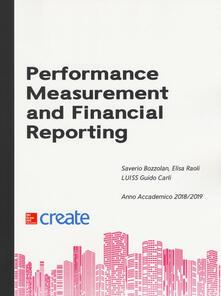 Performance measurement and financial reporting - copertina