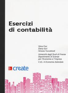 Esercizi di contabilità - copertina