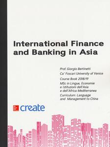 International finance and banking in Asia - Giorgio Bertinetti - copertina