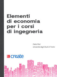 Elementi di economia per i corsi d'ingegneria - copertina