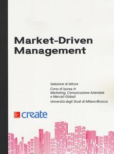 Market-driven management - copertina