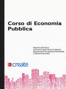 Corso di economia pubblica - copertina