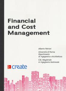 Financial and cost management - Alberto Petroni - copertina