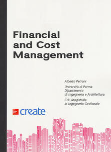 Financial and cost management - copertina