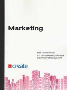 Marketing - Tiziano Vescovi - copertina