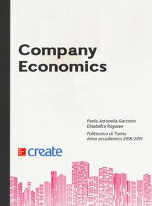 Company economics - copertina
