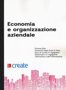 Economia e organizzazione aziendale - copertina