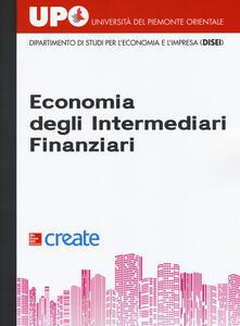 Economia degli intermediari finanziari - copertina