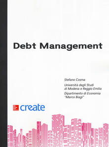 Debt management - copertina
