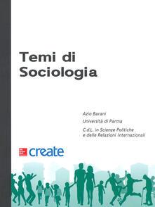 Temi di sociologia - copertina