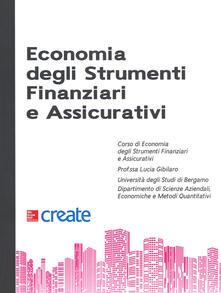 Economia degli strumenti finanziari e assicurativi - copertina