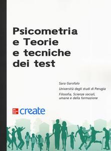 Psicometria e teorie e tecniche dei test - Sara Garofalo - copertina