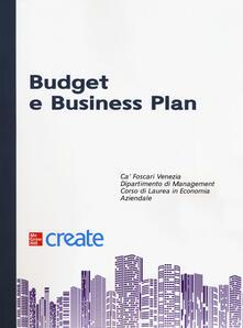 Budget e business plan - copertina