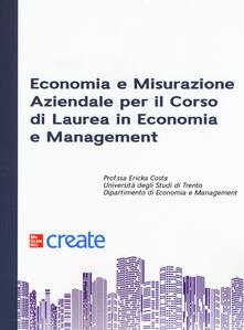 Capturtokyoedition.it Economia e misurazione aziendale per il corso di Laurea in Economia e Management Image