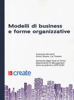 Modelli di business e forme organizzative