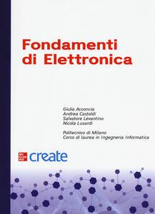 Libro Fondamenti di elettronica