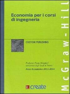 Economia per i corsi di ingegneria