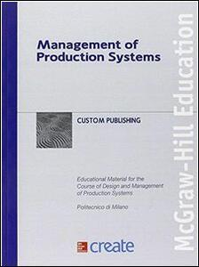 Management of production systems - copertina