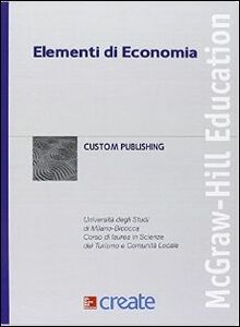 Foto Cover di Elementi di economia, Libro di  edito da McGraw-Hill Education