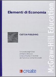 Libro Elementi di economia