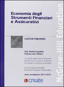 Libro Economia degli strumenti finanziari e assicurativi