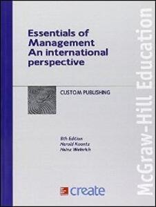 Essentials of management. An international perspective - copertina