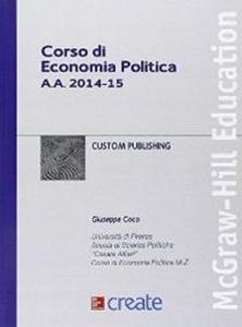 Libro Corso di economia politica a.a. 2014-15