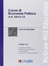 Corso di economia politica a.a. 2014-15