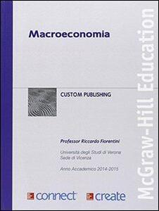 Macroeconomia. Con Connect - Riccardo Fiorentini - copertina