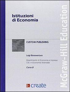 Foto Cover di Istituzioni di economia, Libro di  edito da McGraw-Hill Education
