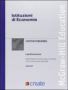 Libro Istituzioni di economia