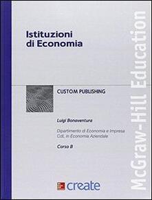 Istituzioni di economia - copertina