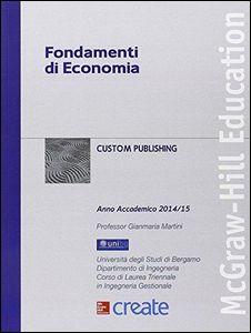 Libro Fondamenti di economia Gianmaria Martini