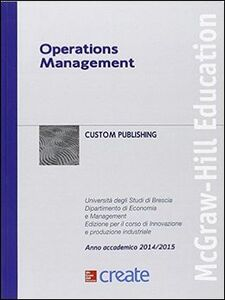 Libro Operations management