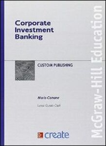 Libro Corporate investment banking