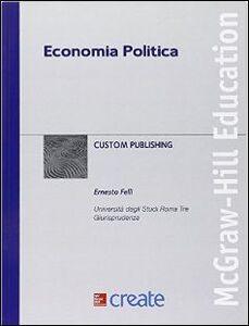 Foto Cover di Economia politica, Libro di  edito da McGraw-Hill Education