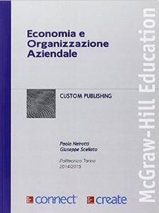 Libro Economia e organizzazione aziendale