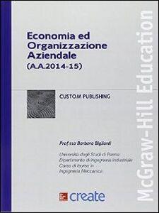 Libro Economia ed organizzazione aziendale