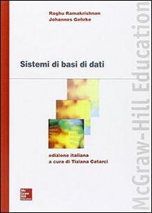 Sistemi di basi di dati