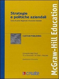 Strategie e politiche aziendali
