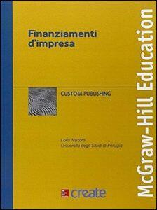 Finanziamenti d'impresa - copertina