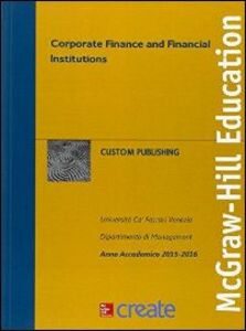 Libro Corporate finance and financial institutions