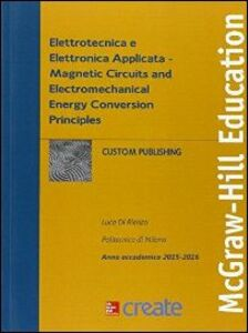 Foto Cover di Elettrotecnica e elettronica applicata, Libro di  edito da McGraw-Hill Education