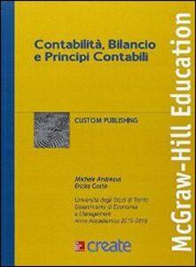 Libro Contabilità, bilancio e principi contabili