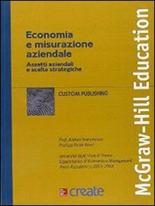 Economia e misurazione aziendale. Assetti aziendali - copertina